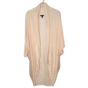 Eileen Fisher Tencel Merino Wool Cocoon Cardigan